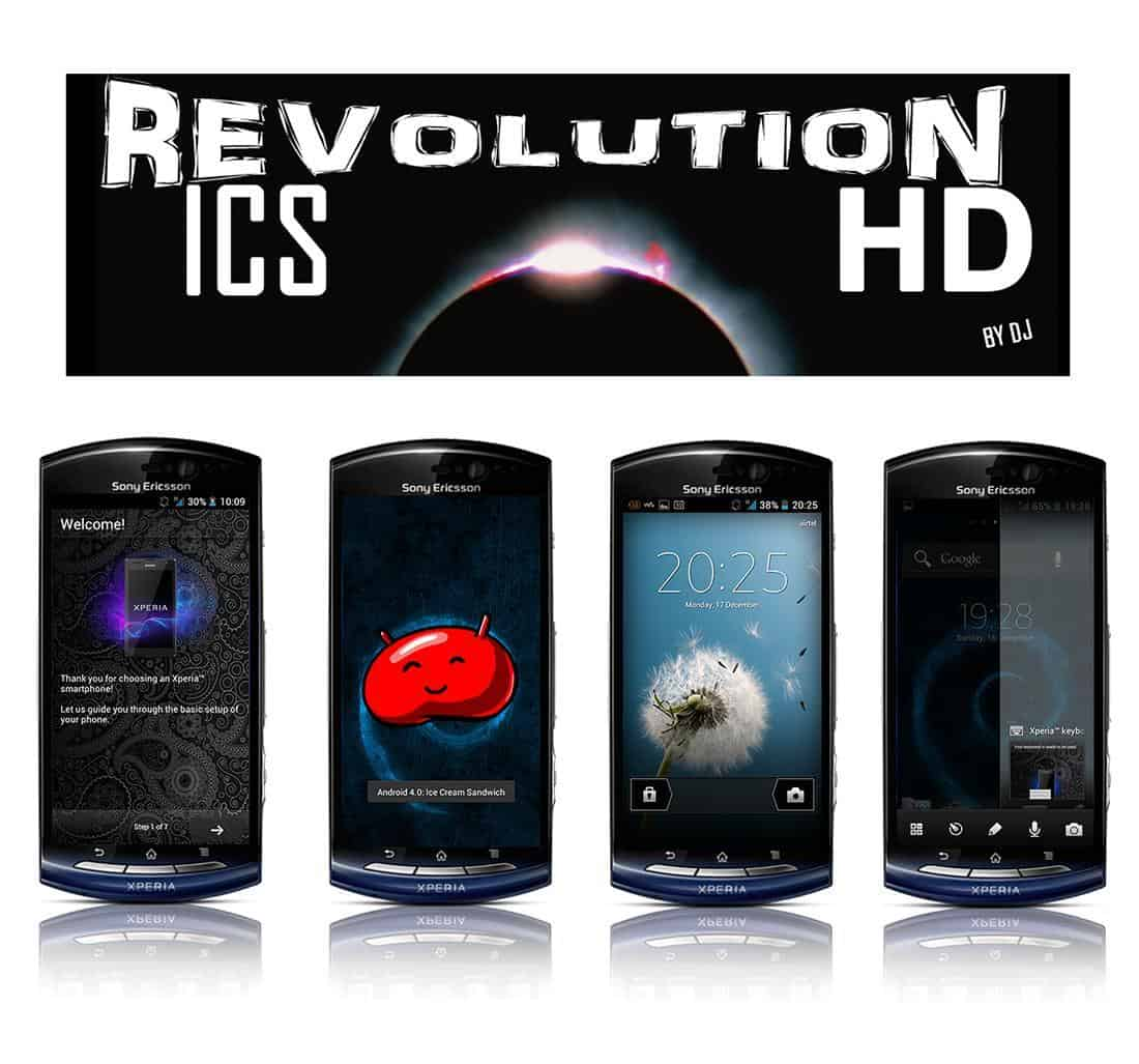 Revolution ICS HD™ Sony Xperia Neo V